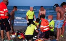 Muere ahogado un bañista en la playa de Los Ibicencos en La Manga