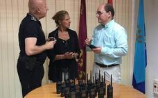 La Policía local mejora la comunicación interna con la compra de 20 equipos Tetra