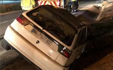 Dos heridos en una salida de vía en Lo Romero en la que dio positivo por alcohol el conductor