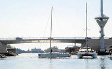 El puente del Estacio volverá a funcionar a primera hora de este miércoles