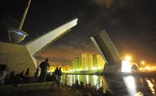 El puente del Estacio retoma las aperturas programadas tras sufrir una avería
