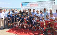 La Vuelta Ciclista pasa por San Javier con una jornada festiva