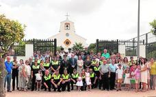 Misa y comida en el Día del Patrón de la Policía Local de San Javier
