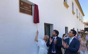 María del Mar Blanco inaugura una avenida dedicada a su hermano, asesinado por ETA