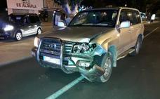 La mujer arrollada en San Javier cuando circulaba en una en silla motorizada voló 20 metros tras el impacto