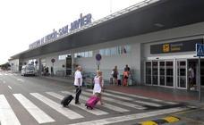 El aeropuerto de San Javier supera el millón de pasajeros en los nueve primeros meses del año