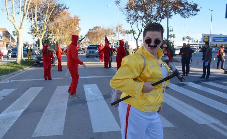 Desfile de carrozas San Javier