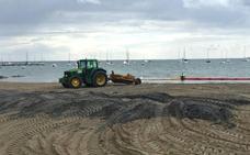 Medio Ambiente autoriza la extracción de lodos de las playas