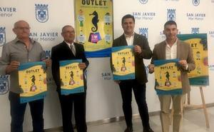 El 'outlet' de La Ribera reúne las ofertas de 27 comercios locales