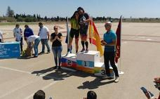 Más de 80 deportistas se midieron en el Campeonato de Patinaje de Velocidad