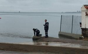 Medio Ambiente analiza los vertidos al Mar Menor tras las intensas lluvias