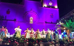 El folclore de Canarias y Portugal llega al centro de San Javier