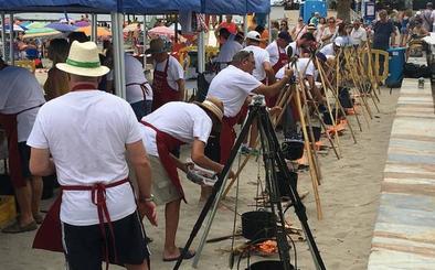 La Ribera inicia sus fiestas más gastronómicas con calderos y salazones