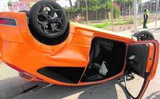 Tres accidentes dejan un herido grave y dos peatones atropellados