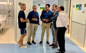 Los Arcos reanudará el jueves las operaciones tras la desinfección de los quirófanos