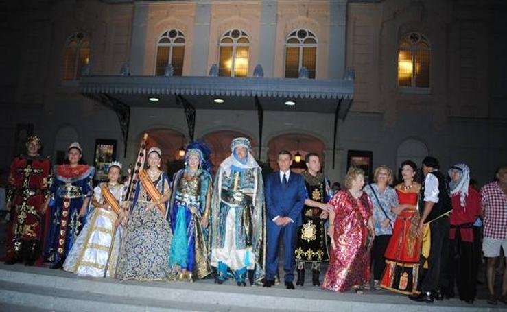 Pregón de las Fiestas de Moros y Cristianos de Murcia, por Alfonso de la Cruz 1