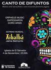 Más de 70 voces de tres coros destacados de la Región participan este sábado en 'El Salvador' en el concierto 'Canto de Difuntos'