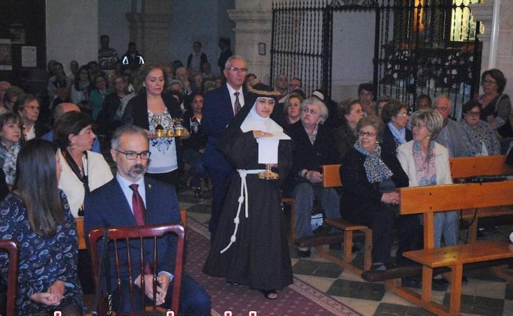 Votos perpetuos de Sor María Inés