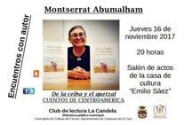 Montserrat Abumalham participa en los 'Encuentros con autor' de la Biblioteca Municipal