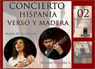 El dúo 'Hispania: verso y madera' ofrece un recital poético-musical centrado en la mística de San Juan de la Cruz y Santa Teresa