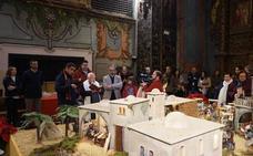 El Belén Municipal, abierto al público hasta el 7 de enero en la iglesia de San José
