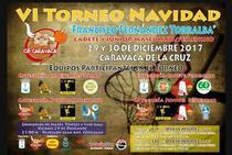 El VI Torneo de Navidad 'Francisco Fernández Torralba' reúne a 16 de equipos de Andalucía, Murcia, Valencia y Castilla la Mancha