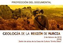 El documental 'Geología de la Región de Murcia' se presenta este viernes en la Casa de Cultura