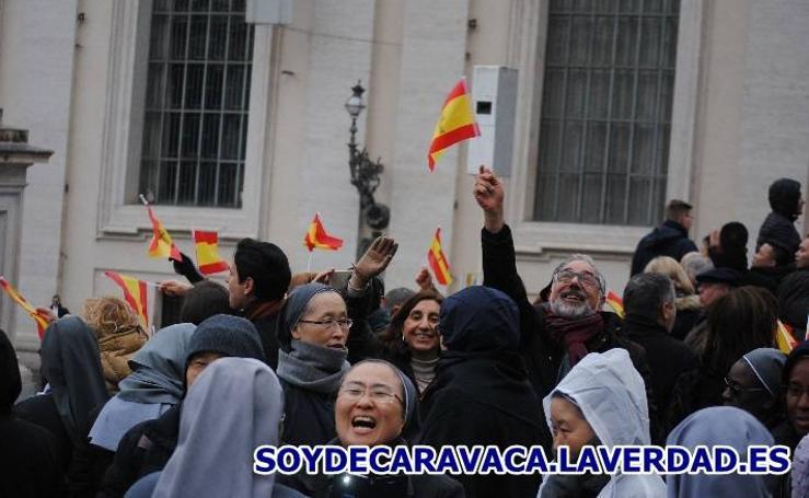 PEREGRINACIÓN A ROMA 5 Audiencia General con el Papa