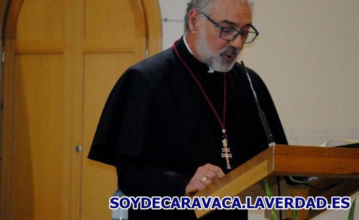 El rector de la basílica de la Vera Cruz pregonó la Semana Santa de Águilas