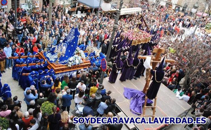 Procesión del Santo Encuentro - Plaza del Arco 2 - Viernes Santo 2018