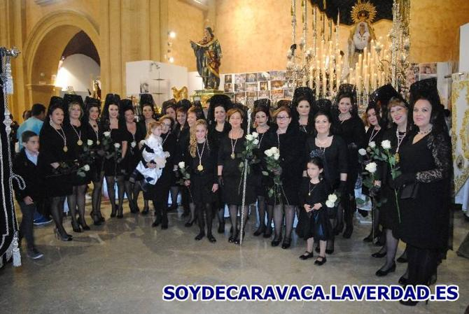 Procesión de la Virgen Blanca - Jueves Santo 2018