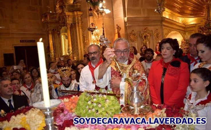 Mañana del Dos de Mayo 2018-6 Bendición del Vino y las Flores