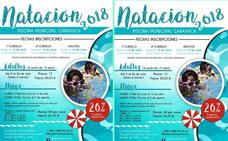 Deportes oferta 500 plazas en los cursos de iniciación y perfeccionamiento de Natación