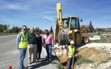 Comienzan las obras en dos caminos del Programa de Desarrollo Rural