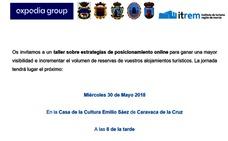Caravaca acoge un taller gratuito sobre posicionamiento web para hoteles y alojamientos turísticos