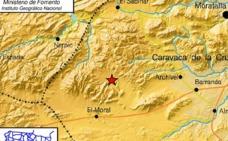 Un terremoto de 4 grados hace temblar Caravaca y Moratalla