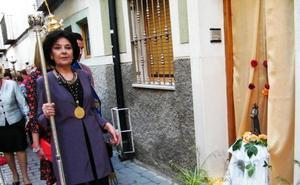 Mari Carmen López, candidata a Hermana Mayor de la Cofradía de la Vera Cruz
