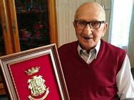 Juan Aznar, caravaqueño superviviente de Mauthausen en la II Guerra Mundial, recibe el homenaje de su ciudad natal