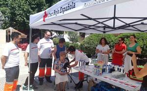 Cruz Roja realiza la campaña informativa 'Yo me protejo de la ola de calor'