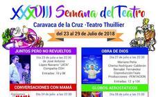 'Juntos pero no revueltos' abre la programación de la XXXVIII Semana de Teatro de Caravaca