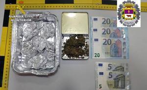 Detenido un menor de edad por tráfico de drogas en Caravaca