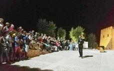 Más de 1.300 personas han participado ya en las visitas teatralizadas al Castillo de Caravaca