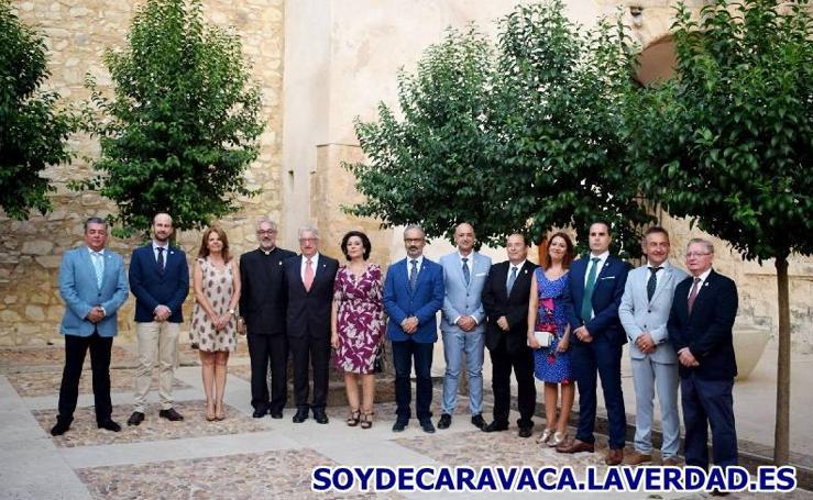 Proclamación de Cofrade del Año y presentación Quinario de Extaltación de la Vera Cruz