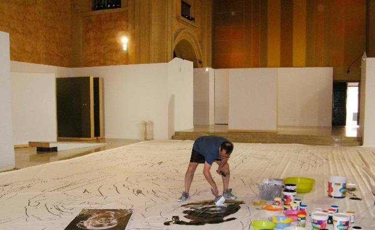 Ydañéz dona a Caravaca de la Cruz su obra sobre San Juan - 1