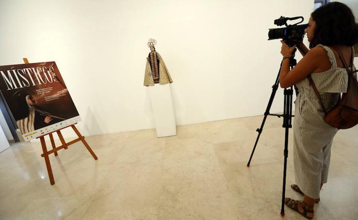 La exposición 'Místicos' albergará una talla de la Virgen del Carmen atribuida a Salzillo