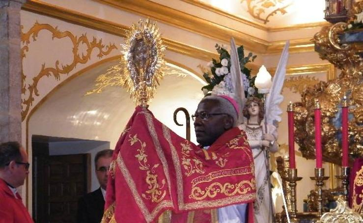 El Nuncio Apostólico en Honduras preside el primer día del Quinario
