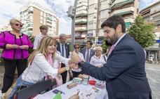López Miras confirma que el Hospital de Caravaca incorporará un mamógrafo de última generación