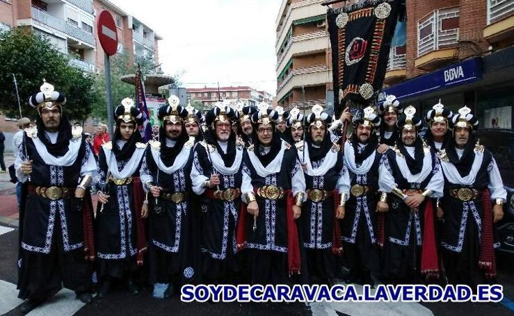 Los Almorávides promocionan Caravaca y la región de Murcia en Alcobendas
