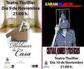 El teatro regresa al Thuillier con 'Hay que deshacer la casa' y 'Criaturas, hombres y otros bichos'