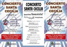 Música de banda por Santa Cecilia